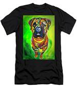 The Abstract Mastiff Men's T-Shirt (Athletic Fit)