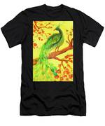 The Auspicious Peacock Men's T-Shirt (Athletic Fit)