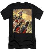 The Battle Of Waterloo Men's T-Shirt (Athletic Fit)