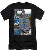 The Blue Cemetery Men's T-Shirt (Athletic Fit)