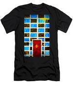 The Door And The Wall Men's T-Shirt (Athletic Fit)