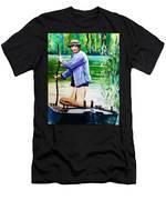 The Eel Catcher Men's T-Shirt (Athletic Fit)