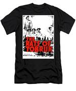 The Fighting Rats Of Tobruk  Theatrical Poster 1944 Color Added 2016 Men's T-Shirt (Athletic Fit)