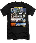 The Glow Of Southern California Men's T-Shirt (Athletic Fit)