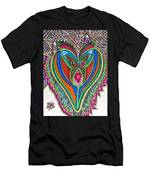 The He And She Together Men's T-Shirt (Athletic Fit)