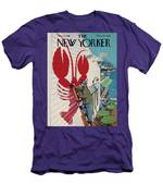 The New Yorker Cover - March 22, 1958 Men's T-Shirt (Athletic Fit)