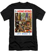 The Orient Is Hong Kong - B O A C  C. 1965 Men's T-Shirt (Athletic Fit)