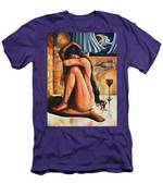 The Reflection Of The Long Hair Muse II Men's T-Shirt (Athletic Fit)