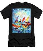 The Sea Cruise Of Tivoli Gardens Men's T-Shirt (Athletic Fit)