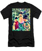 The Three Snowmen Men's T-Shirt (Athletic Fit)