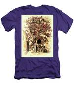 The Tree In The Corner Of The Courtyard Men's T-Shirt (Athletic Fit)