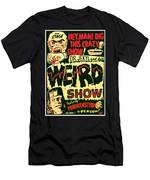 The Weird Show Poster Men's T-Shirt (Athletic Fit)