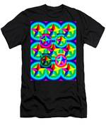 Thirteen Stars With Ring Gradients Men's T-Shirt (Athletic Fit)