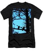 Three Crows In A Tree Men's T-Shirt (Athletic Fit)