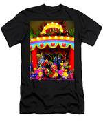 Ticket Booth Of Flowers Men's T-Shirt (Athletic Fit)