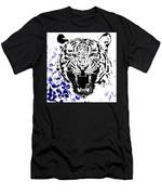 Tiger And Paisley Men's T-Shirt (Athletic Fit)