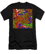 Tigstriper Men's T-Shirt (Athletic Fit)