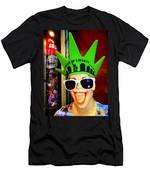 Times Square Trish Men's T-Shirt (Athletic Fit)
