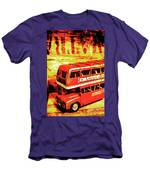 Tin Sign Travels Men's T-Shirt (Athletic Fit)