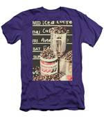 Tin Signs And Coffee Shops Men's T-Shirt (Athletic Fit)