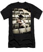 Tired Buckaroo Men's T-Shirt (Athletic Fit)