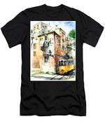 Tram In Lisboa Men's T-Shirt (Athletic Fit)