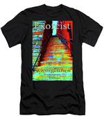 Travel-exorcist Steps Men's T-Shirt (Athletic Fit)