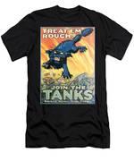 Treat Em Rough Men's T-Shirt (Athletic Fit)