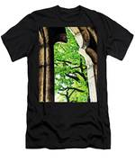 Tree In A Medieval Frame Men's T-Shirt (Athletic Fit)