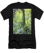 Tree In Garden Men's T-Shirt (Athletic Fit)