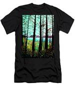 Trees In Fall Men's T-Shirt (Athletic Fit)