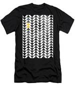 Triangle - Yellow II Men's T-Shirt (Athletic Fit)