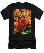 Tropical Flowers Men's T-Shirt (Athletic Fit)