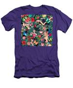 Tropical Fun Sexy  Men's T-Shirt (Athletic Fit)