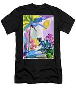 Tropical Moods Men's T-Shirt (Athletic Fit)