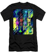Trumpets Abstract Men's T-Shirt (Athletic Fit)