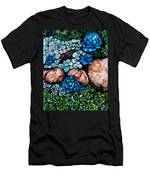 Turquoise Stone Men's T-Shirt (Athletic Fit)