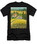 Tuscan Italy Men's T-Shirt (Athletic Fit)