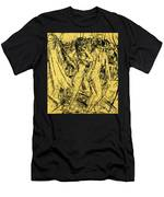 Two Nudes At The Window Men's T-Shirt (Athletic Fit)