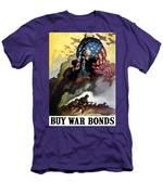 Uncle Sam - Buy War Bonds Men's T-Shirt (Athletic Fit)