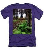 Under The Alaskan Trees Men's T-Shirt (Athletic Fit)