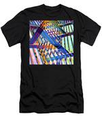 Urban Abstract 258 Men's T-Shirt (Athletic Fit)