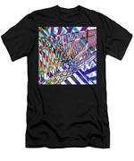 Urban Abstract 352 Men's T-Shirt (Athletic Fit)