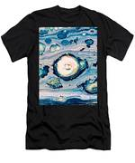 Occator On Ceres In My Eyes Men's T-Shirt (Athletic Fit)