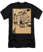 Village Scene Ireland Men's T-Shirt (Athletic Fit)