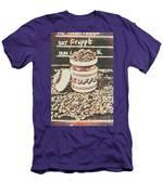Vintage Drinks Decor  Men's T-Shirt (Athletic Fit)
