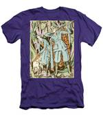 Vintage Fashion Plate Twenties Sporting Outfits Men's T-Shirt (Athletic Fit)