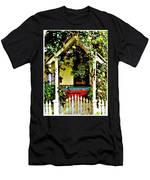 Vintage Garden Arbor Gate Men's T-Shirt (Athletic Fit)