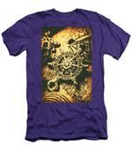 Vintage Maritime Design Men's T-Shirt (Athletic Fit)