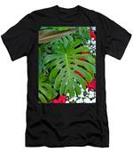 Waikiki Split Leaf Men's T-Shirt (Athletic Fit)